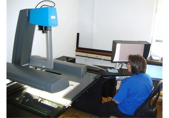 Digitalisieung - Buchscanner