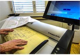 Digitalisieung - Planscanner