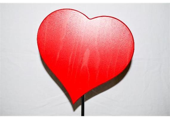 "Herz ""Cuore"" - rot, 21 cm"