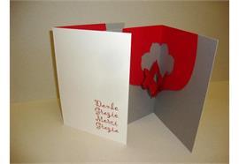 Karten: Danke - Danke: Flower Kollektion A5