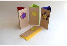 Karten - Danke: Flower Kollektion A5