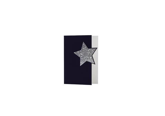 Karten: Weihnachten - Weihnachten: Stern