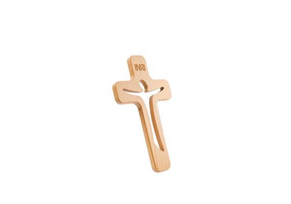 """Kreuz """"Aurelia"""" - 40 cm Kirschbaum"""