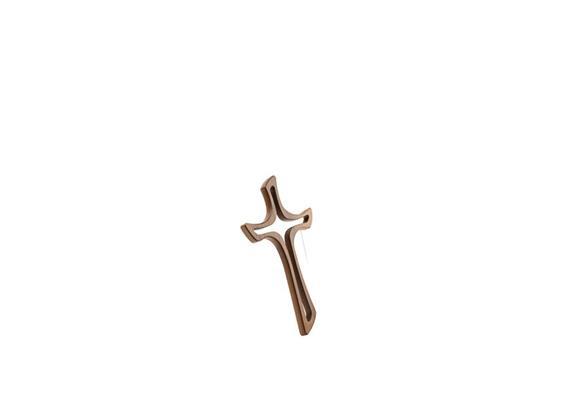 """Kreuz """"Jacobus"""" - 30 cm Nussbaum"""