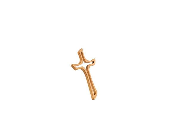 """Kreuz """"Jacobus"""" - 40 cm Kirschbaum"""