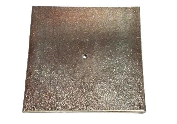 Metallplatte 20 x 20 cm