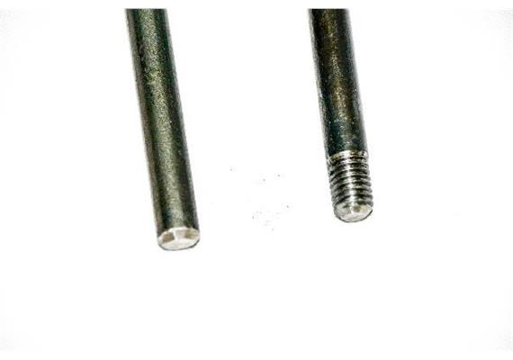 Metallstangen + -platten - Stange, bis 80 cm (8 mm)