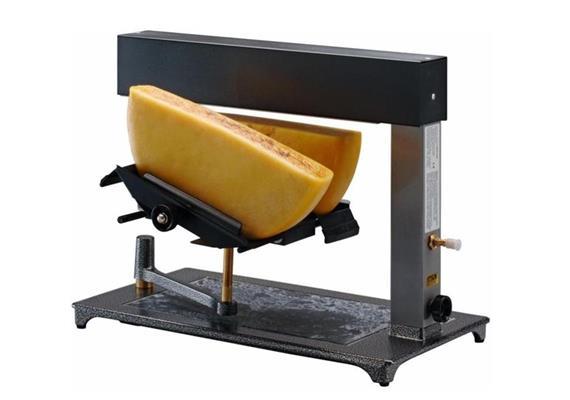 Racletteofen: 2 x 1/2 Käse, Brio-Gas, schwenkbar