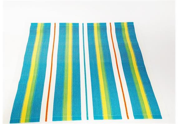 Tischset mehrfarbig - petrol - mehrfarbig